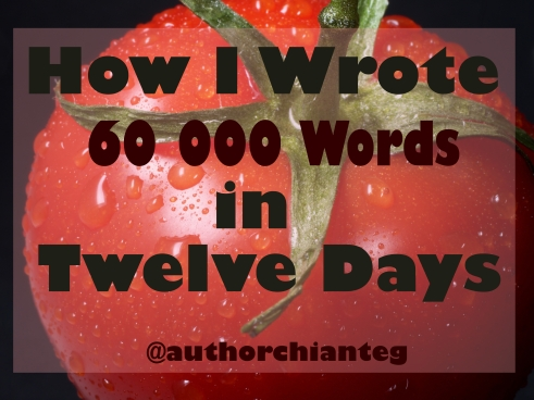 60000 words in 12 days