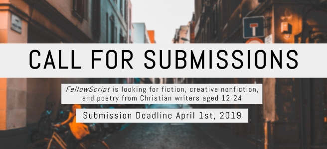 call for submissions canadian fiction non fiction poetry christian writers young writers 12-24